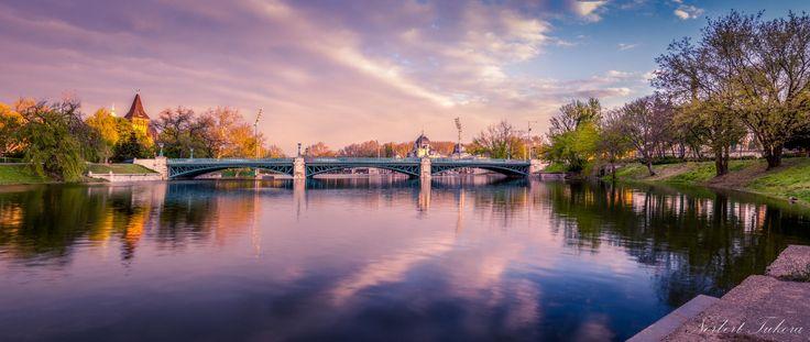 City park lake by Norbert Tukora on 500px