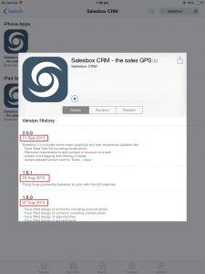 Salesbox-iOS-App