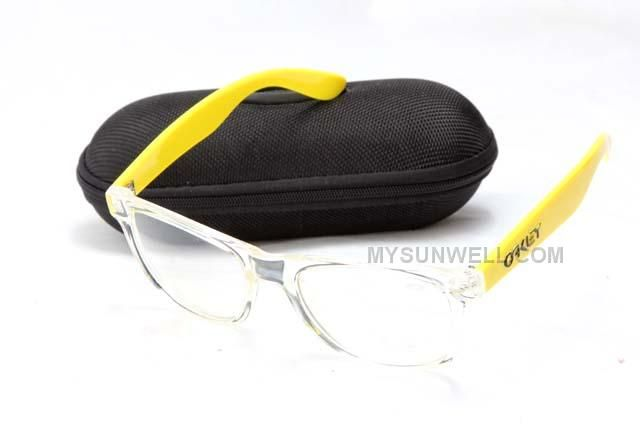 http://www.mysunwell.com/cheap-new-oakley-frogskins-sunglass-yellow-frame-clear-lens-online-hot.html CHEAP NEW OAKLEY FROGSKINS SUNGLASS YELLOW FRAME CLEAR LENS ONLINE HOT Only $25.00 , Free Shipping!