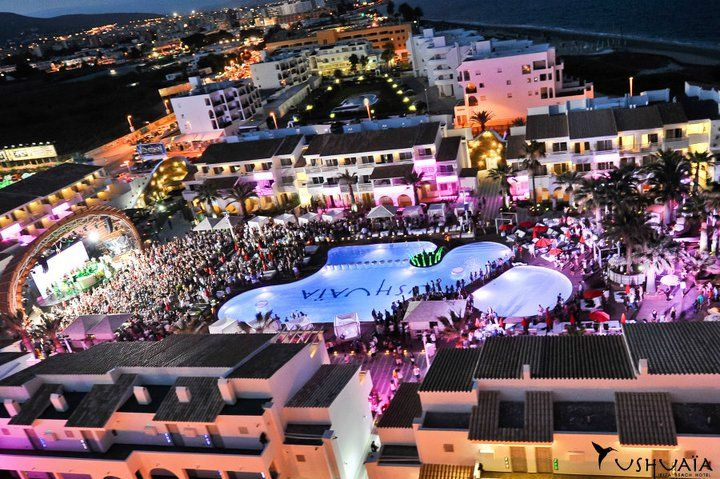 This is where we gonna party this summer 2012! Ushuaia Hotel, Ibiza Spain!