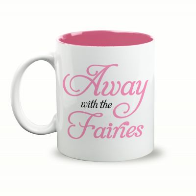 Away With The Fairies Gift Mug & Box by HairyBaby.com