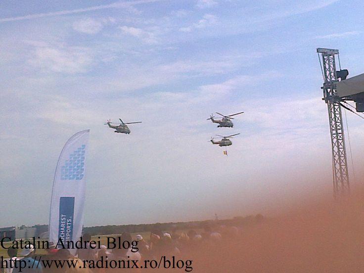 Fortele Aeriene Romane cu drapelul la #BIAS2015