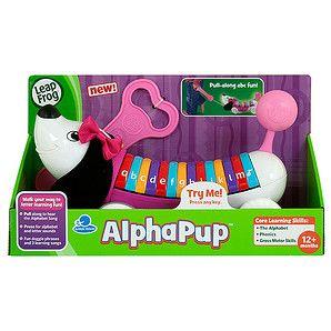LeapFrog Alphapup Pull Along - Pink – Target Australia