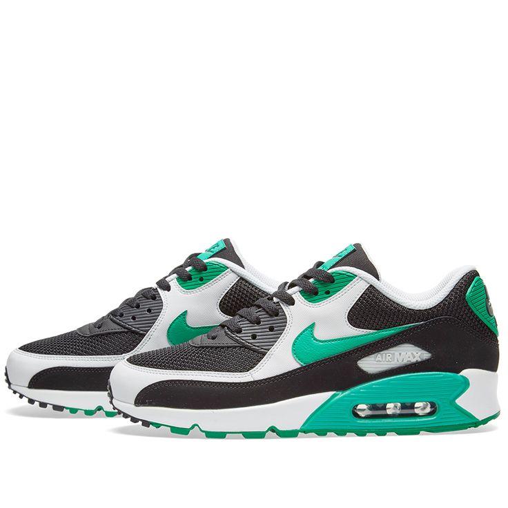 Nike Air Max 90 Essential (Black, Stadium Green & White)