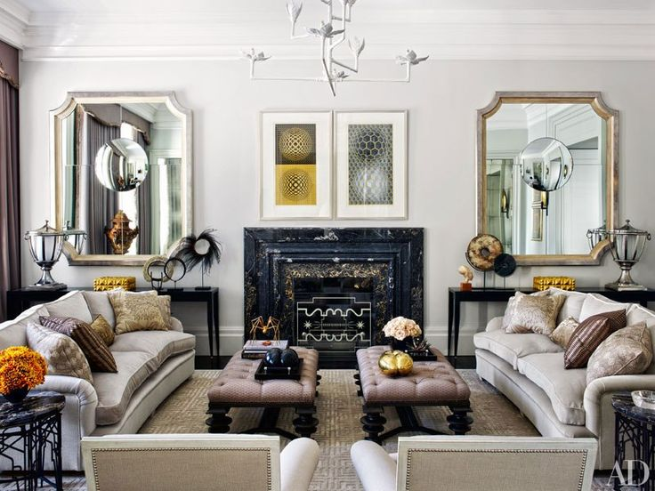 Designer Hubert Zandberg gives a stately London home an elegant makeover with bespoke interiors marked by a subtle palette and shimmering surfaces