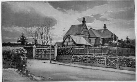Skerryvore Cottage, Bournemouth, England - Home of Robert Louis Stevenson