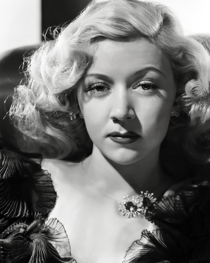 "Gloria Grahame was almost always the bad girl with the heart of gold, the gun moll, or ""the Dame in trouble"" She was so good at it."