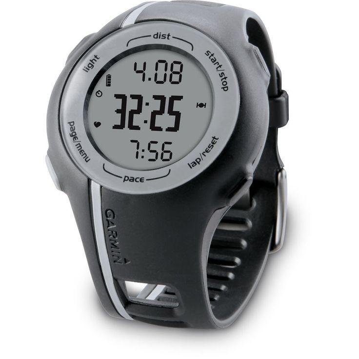 Amazon.com: Garmin Forerunner 110 GPS-Enabled Unisex Sport Watch (Black): Sports & Outdoors