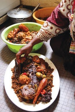 Thieboudienne (Senegalese Fish and Rice)