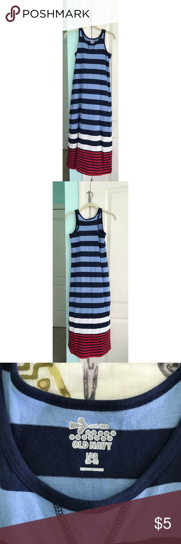 Old Navy Kids Maxi Dress Super cute maxi dress! Perfect for warm weather! Old Navy Dresses Casual