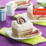 STEFANKA Z BITĄ ŚMIETANĄ - najlepszy, wypróbowany przepis na pyszne, klasyczne ciasto bez pieczenia. Idealnie lekkie i kremowe ciasto.