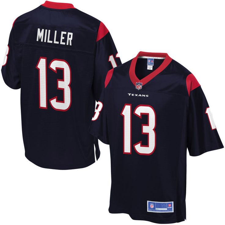 Braxton Miller Houston Texans NFL Pro Line Youth Player Jersey - Navy
