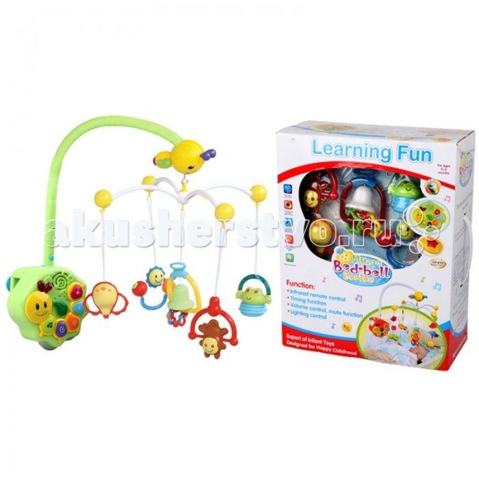 Мобиль Bairun Музыкальная карусель Y360900  Bairun Музыкальная карусель Y360900  - это аксессуар, который не только украсит кроватку, но и станет полезным для ребенка и его мамы. Он изготовлен из пластика и легко устанавливается и надежно крепится на спинке кроватки. На нем имеются несколько ярких цветных игрушек, выполненных в виде фигурок животных и различных предметов, которые находятся в подвешенном состоянии.  Благодаря специальному механизму, игрушки приводятся во вращательное…