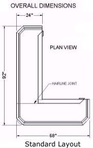 Home Bar Plans   Easy Designs To Build Your Own Bar   Classic L Shaped