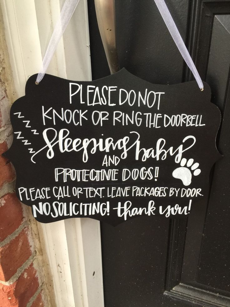 Sleeping Baby Door Sign by brittanylynesedesign on Etsy https://www.etsy.com/listing/240330632/sleeping-baby-door-sign