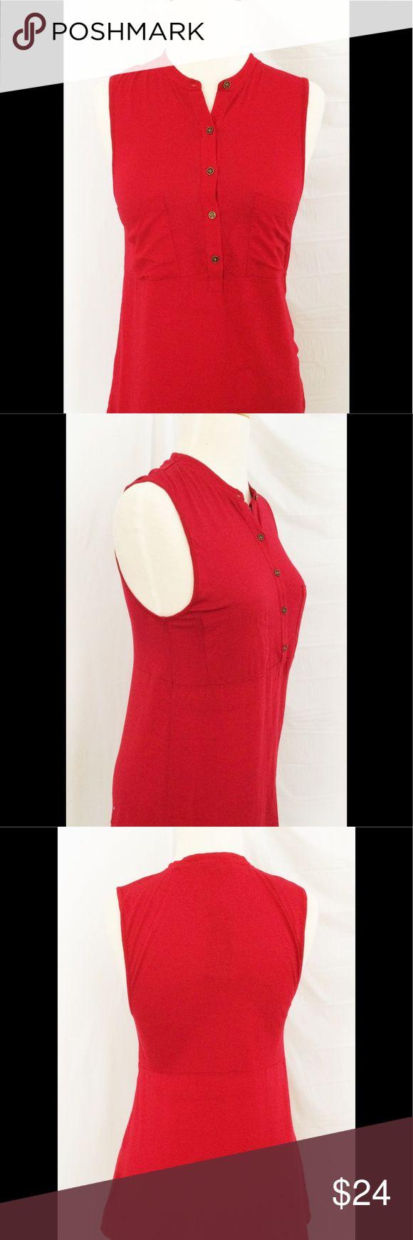 Red Ralph Lauren XS knit jersey blouse viscose Red Ralph Lauren XS knit jersey blouse viscose Lauren Ralph Lauren Tops Blouses