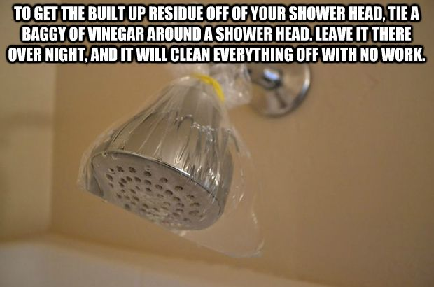 Nothing worst than a slow shower from hard water build up.