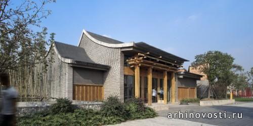 Это замечательное здание с большим внутренним двориком расположено в одном из парков города Чэнду, Китай. Внутри него находится ресторан и частный клуб. Данный объект, концептуальной основой для которого стала традиционная китайская архитектура, был спроектирован специалистами из компании Archi Union...