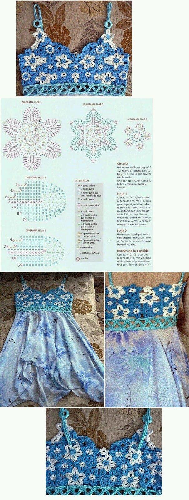 mi ba l de inspiraciones m s blusas con diagramas para tejer en crochet vedtidos