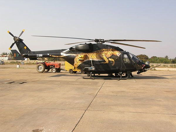 HAL Rudra is the Weapon System Integrated (WSI) version of the Dhruv Advanced Light Helicopter (ALH).