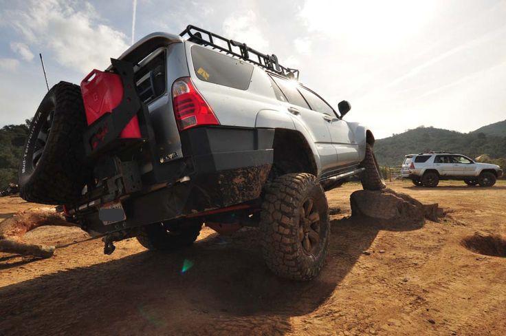 4th Gen 4runner Rear Plate Bumper With Swing Away Tire