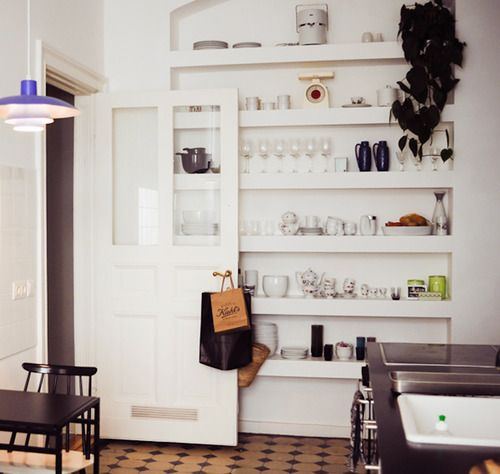 Apartment Therapy Kitchen Shelves: 20 Best Recessed Shelving Images On Pinterest