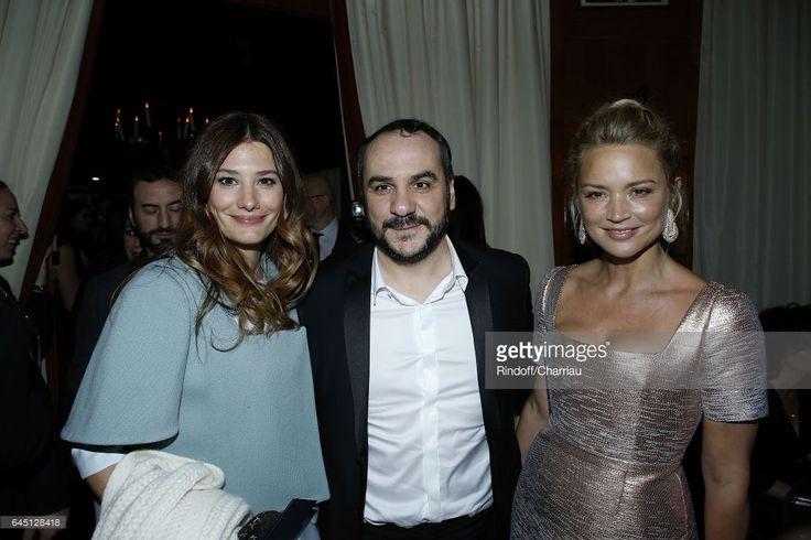 Photo d'actualité : Alice Pol, Francois-Xavier Demaison and Virginie...