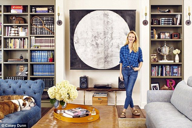 Home sweet home: Aside from the construction, Brooklyn and the 33-year-old retired tennis pro completely refurbished the traditional Texas-style farmhouse bythemselves