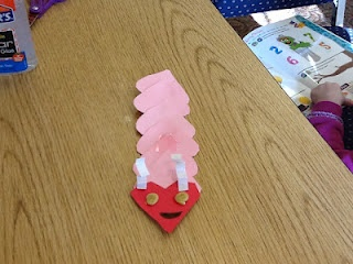 Valentine Catepillar! Love it and my kids will be doing this during their sessions :)