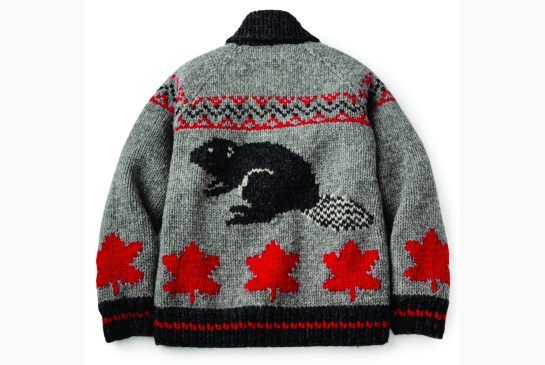Limited edition Roots by Mary Maxim's Beaver sweaters, hand knit in Canada, will be available in select Roots stores and online on November 15.