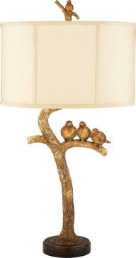 Three Bird Light - eclectic - table lamps - Timeless Elements