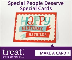 Give yourself a Treat.  Send cards for any occasion without leaving the house.