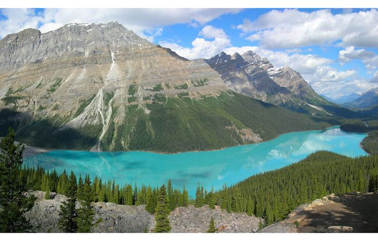 GLACIER-FED PEYTO LAKE IN BANFF   Photograph by TOBIAS ALTBanff Canada, Buckets Lists, Canadian Rocky, Nature Photos, Alberta Canada, Beautiful Places, Peyto Lakes, Amazing Places, Banff National Parks