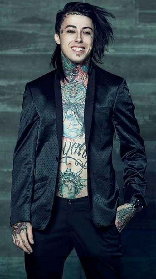 fir, falling in reverse, and ronnie radke image