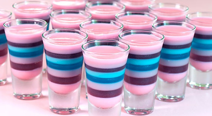 Sparkle Magic Jelly Shots | some thing good: Jello Shots Recipe, Shots Glasses, Jellyshots, Sparkle Magic, Coconut Rum, Magic Jelly, Cocktails, Parties Recipe, Jelly Shots