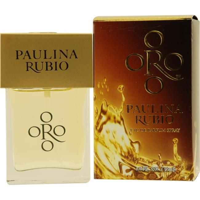 Oro By Paulina Rubio perfume was introduced in 2009 by the design house of Paulina Rubio.