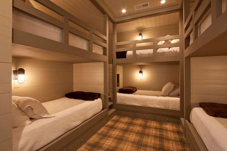 letti a castello ideali per camere d'albergo