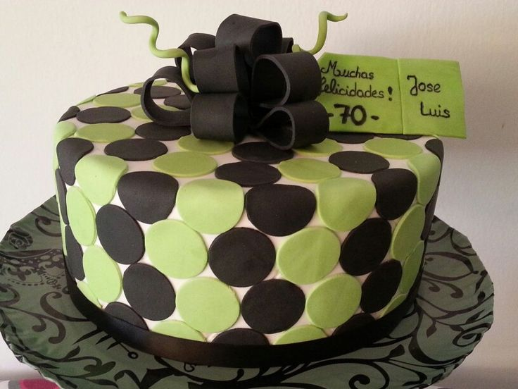19 best 70th birthday cake ideas images on Pinterest Cake ideas