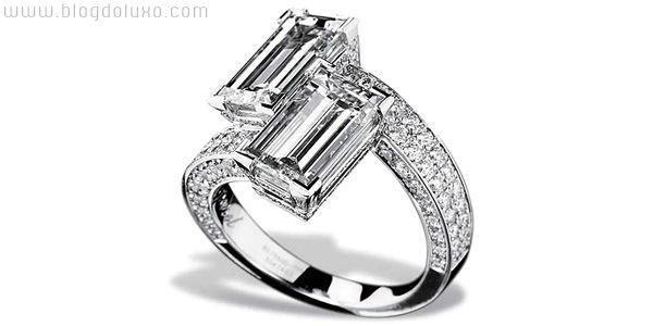 Anel de Diamantes Chopard Bypass