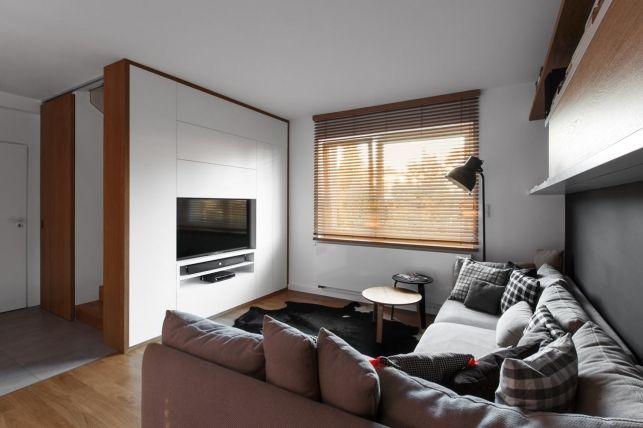 Un apartament multifunctional pentru o familie cu copii mici- Inspiratie in amenajarea casei - www.povesteacasei.ro