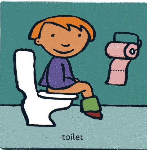 toilet met afbeeldingen kleuterklas pictogrammen
