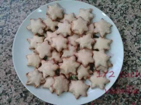 Galletas navideñas de almendras, chocolate y canela. ¡Sin gluten!