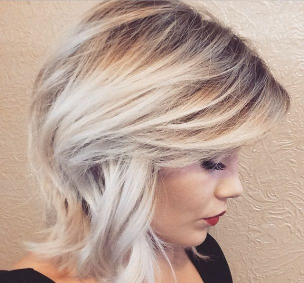 gorgeous blonde ombre.
