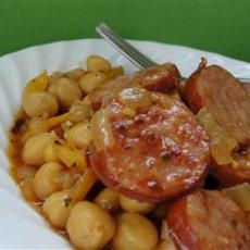 Cuban Smoked Sausage with Chickpeas, and other Cuban recipes