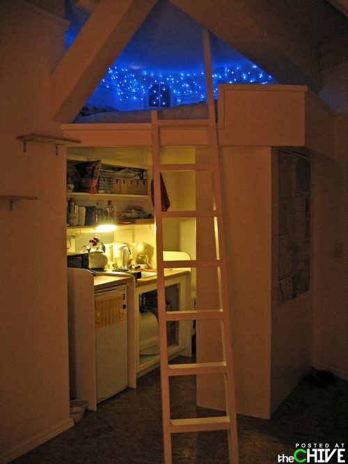 How cool is this, I want to sleep here.