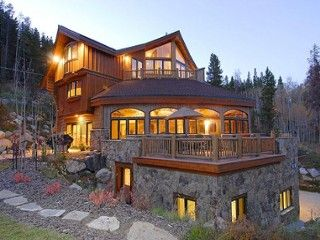 The Majesty of the Rockies on 5 luxurious levelsVacation Rental in Breckenridge from @HomeAway! #vacation #rental #travel #homeaway