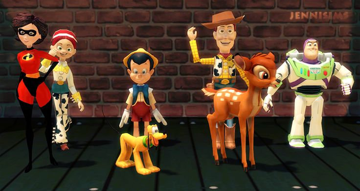 Downloads sims 4: Decoration for kids Disney Vol2 by Jennisims Download