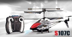 Syma S107C 3channel Coaxial Mini Spy Cam Helicopter (Black) . $33.08