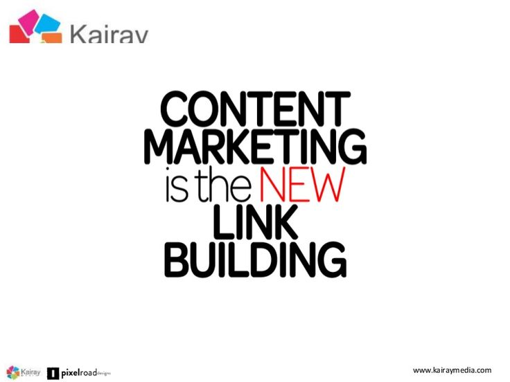 Content Marketing is the New Link Building by Brent Csutoras - SFIM.