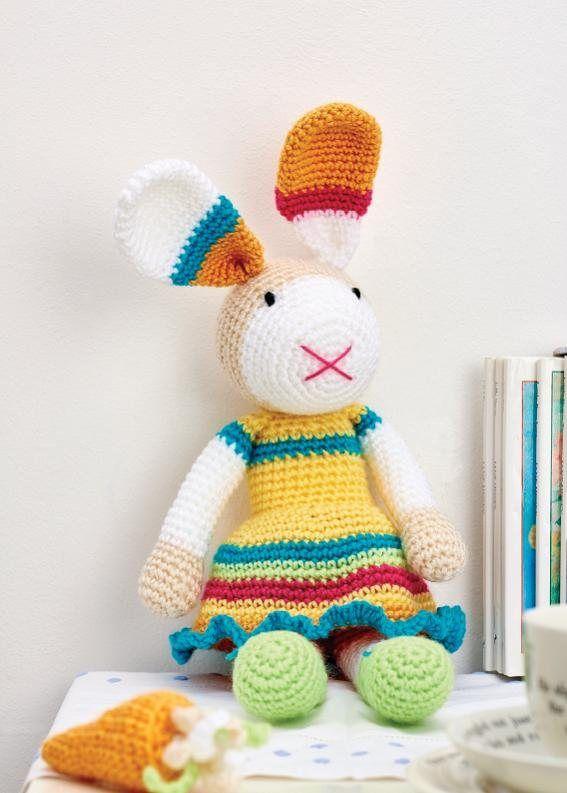 151 best Conejos amigurumis images on Pinterest   Crochet animals ...